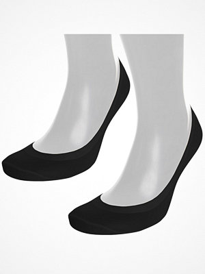 Strumpor - Pierre Robert 2-pack Seamless Steps Sock Black