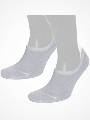 Strumpor - Pierre Robert 2-pack Cotton No Show Sock White