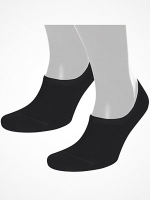 Strumpor - Pierre Robert 2-pack Cotton No Show Sock Black