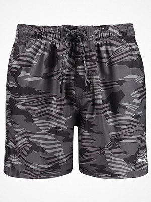 Puma Seasonal Enjoy Swim Shorts Black pattern-2