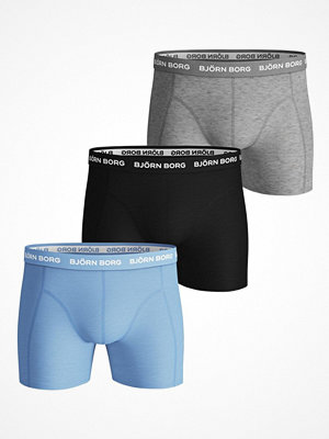 Björn Borg 3-pack Essential Shorts 213 Grey/Black