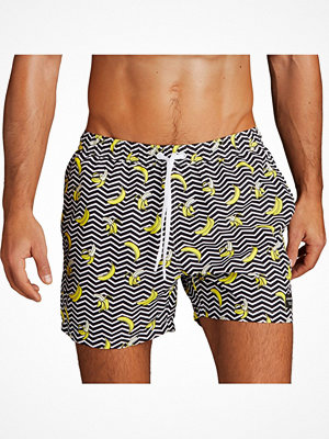Björn Borg Sylvester Swim Shorts Black pattern-2