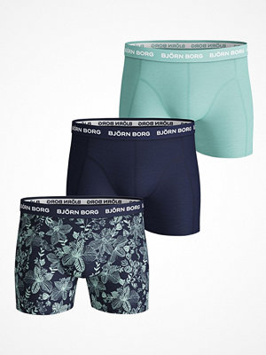 Björn Borg 3-pack Essential Shorts 213 Blue Pattern