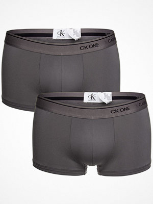 Calvin Klein 2-pack One Micro Low Rise Trunks Grey