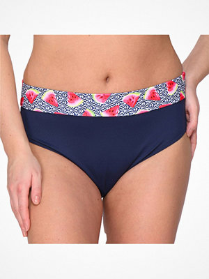 Saltabad Watermelon Bikini Folded Tai Blue Pattern