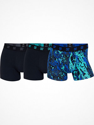 CR7 Cristiano Ronaldo 3-pack Basic Printed Trunk Black pattern-2