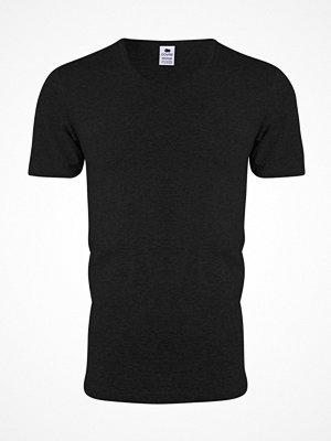 Dovre V-neck T-shirt Black