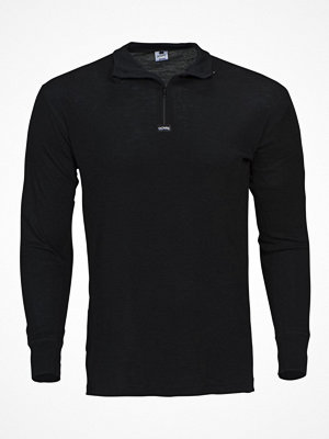 Dovre Wool Long Sleeve With Zipper Black