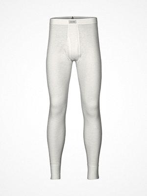 Dovre Wool Long Johns White