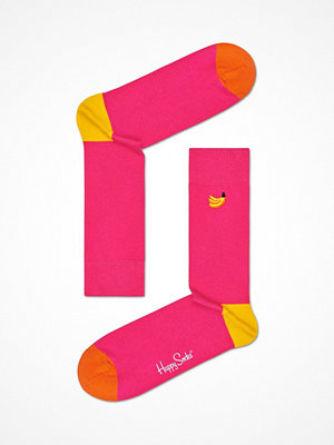 Happy Socks Happy Socks Embroidery Banana Sock Pink