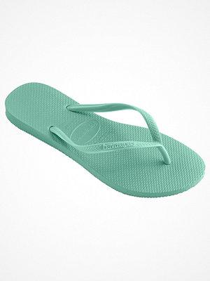 Tofflor - Havaianas Kids Slim Turquoise