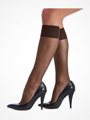 Oroblu Mi-Bas Jeune 20 Sheer Knee-Highs Darkbrown