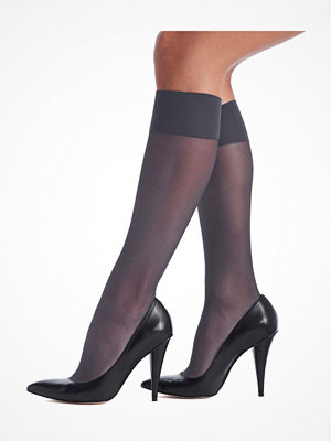 Oroblu Mi-Bas Jeune 20 Sheer Knee-Highs Blue