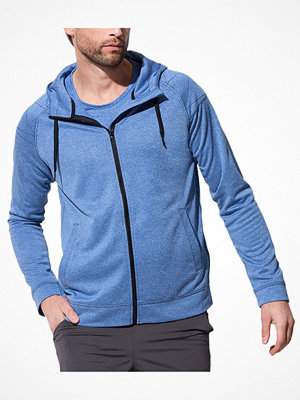 Stedman Performance Men Hooded Jacket Blue