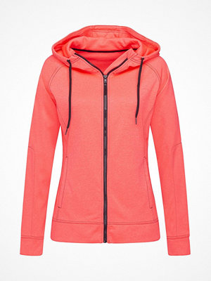 Stedman Performance Women Hooded Jacket Coral