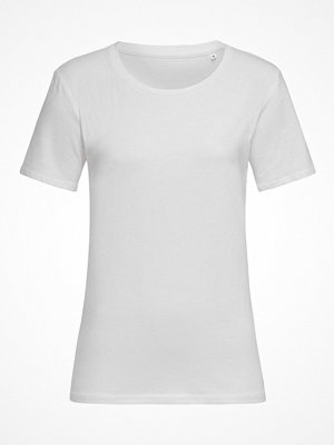 Stedman Claire Relaxed Women Crew Neck White