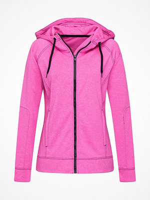 Stedman Performance Women Hooded Jacket Pink