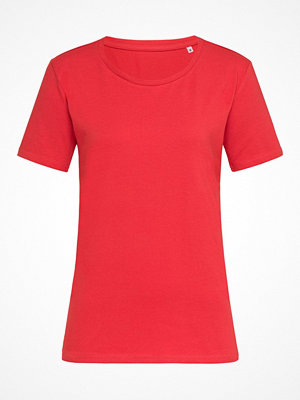 Stedman Claire Relaxed Women Crew Neck Red