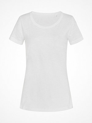 Stedman Sharon Slub Women Crew Neck White
