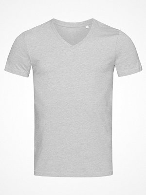 Stedman Luke Men V-Neck Greymarl