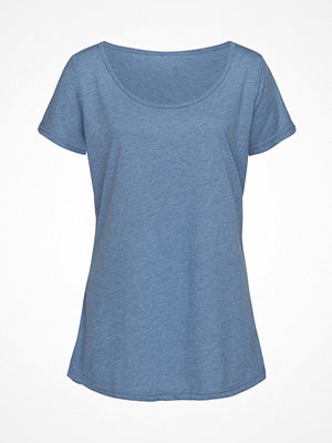 Stedman Daisy Oversized Women Crew Neck Blue
