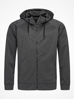 Stedman Performance Men Hooded Jacket Grey