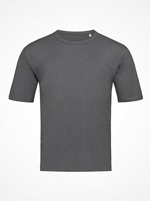 Stedman Organic Slub Men Crew Neck Darkgrey