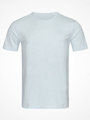 Stedman Shawn Slub Men Crew Neck Lightblue