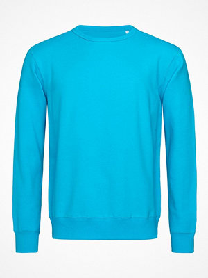 Stedman Sweatshirt Men Long Sleeve Blue