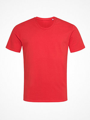 Stedman Clive Relaxed Men Crew Neck Red