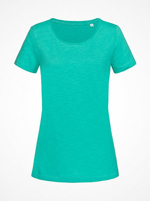 Stedman Sharon Slub Women Crew Neck Green