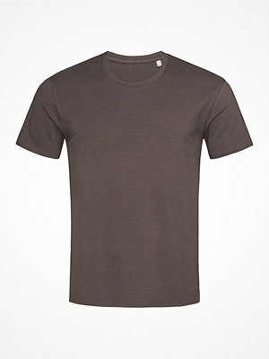 Stedman Clive Relaxed Men Crew Neck Chocolate