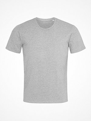 Stedman Clive Relaxed Men Crew Neck Greymarl