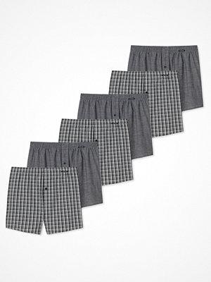 Schiesser 6-pack Essentials Boxer Shorts Grey