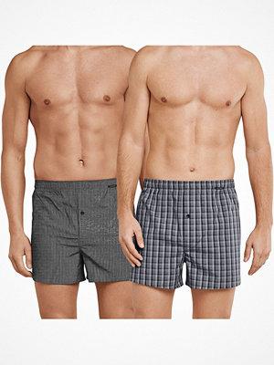 Schiesser 2-pack Essentials Boxer Shorts Grey