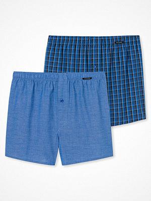 Schiesser 2-pack Essentials Boxer Shorts Blue