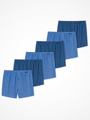 Schiesser 6-pack Essentials Boxer Shorts Blue