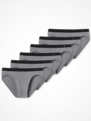 Schiesser 6-pack 95-5 Rio Briefs Grey
