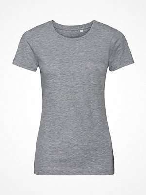 Russell Pure Organic Authentic Women T-shirt Grey