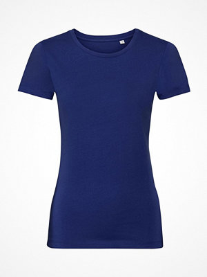 Russell Pure Organic Authentic Women T-shirt Blue