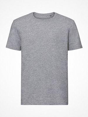 Russell Pure Organic Authentic Men T-shirt Grey