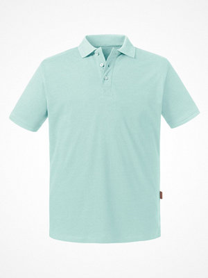 T-shirts - Russell Pure Organic Men Polo Turquoise