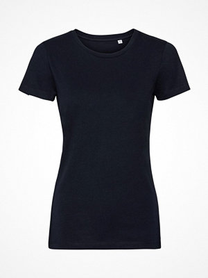 Russell Pure Organic Authentic Women T-shirt Navy-2