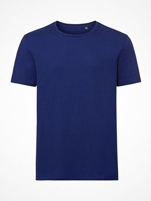 Russell Pure Organic Authentic Men T-shirt Blue