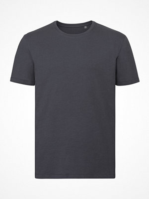 Russell Pure Organic Authentic Men T-shirt Darkgrey