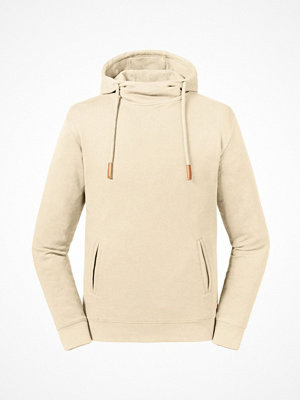 Russell Pure Organic High Collar Hooded Sweat Creme