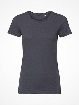 Russell Pure Organic Authentic Women T-shirt Darkgrey