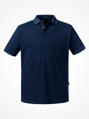 Russell Pure Organic Men Polo Navy-2