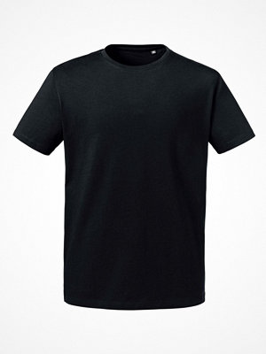 Russell Pure Organic Men Heavy Tee T-shirt Black