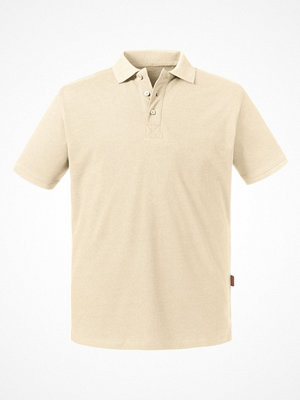 T-shirts - Russell Pure Organic Men Polo Creme